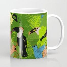 Tropical dawn, birds of paradise Coffee Mug