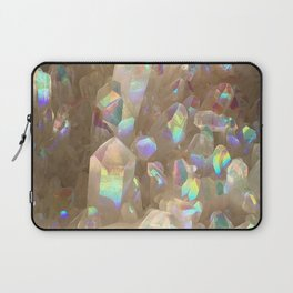 Unicorn Horn Aura Crystals Laptop Sleeve