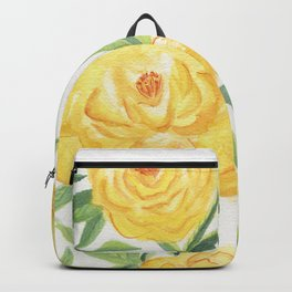 Peonies Watercolor Backpack