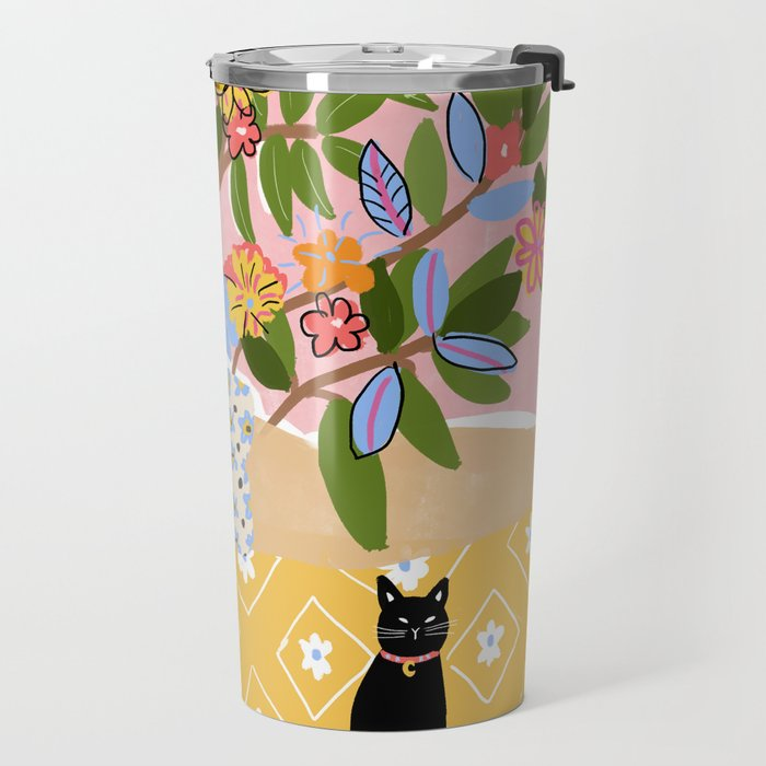 Paint Me Like One of Your French Ladies Travel Mug