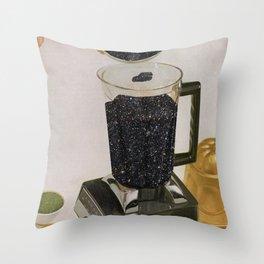 Space Smoothie Throw Pillow