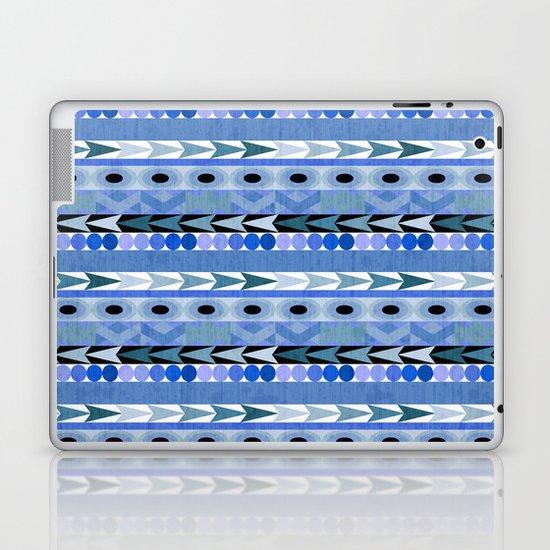 Play Date Blues Laptop & iPad Skin