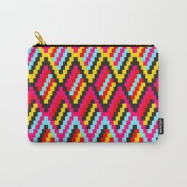 Retro Diamond Pattern (Orko Colorway) Carry-All Pouch