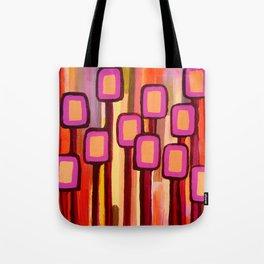Fuchsia Grove Tote Bag