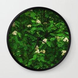 Greenery II Wall Clock