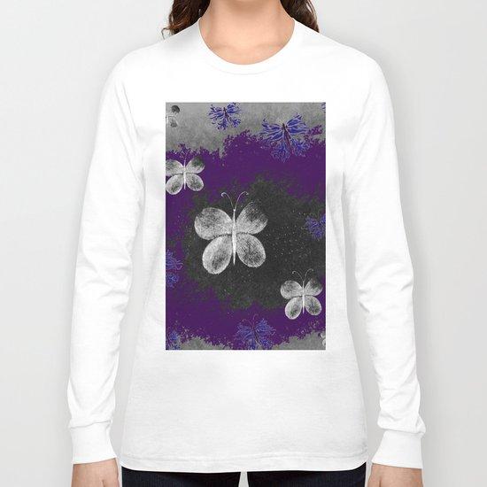 Fluttering Butterflies Long Sleeve T-shirt