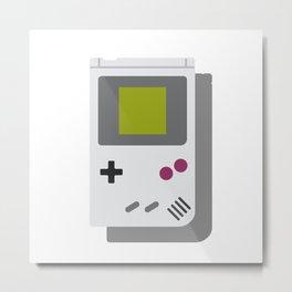 Game Boy Metal Print