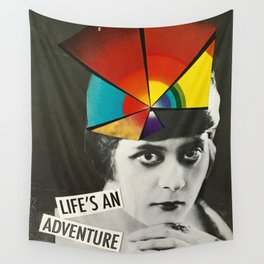 Life's an Adventure Wall Tapestry