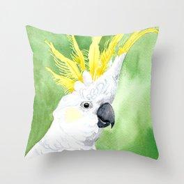 Hello cocky! Throw Pillow