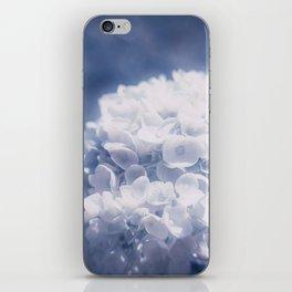 Grace and Beauty Defined a blue Hydrangea flower iPhone Skin