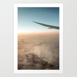 Perfect Flight Art Print
