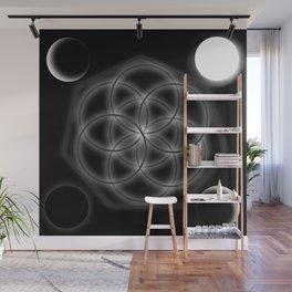 Life and moon Wall Mural