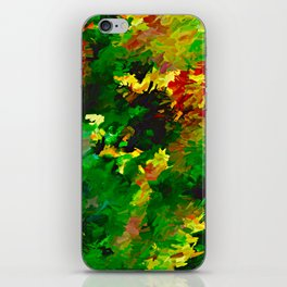 Emerald Forms Abstract iPhone Skin