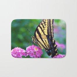The Butterflies Garden Bath Mat