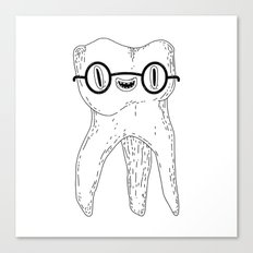 wisdom tooth Canvas Print