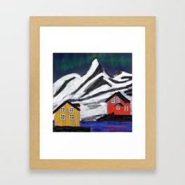 Northern Norway Framed Art Print