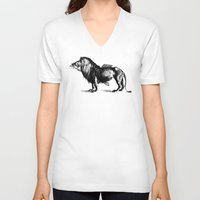 carnival V-neck T-shirts featuring Carnival by sustici