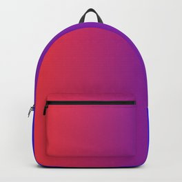 Dark-Blue and Red Gradient 020 Backpack