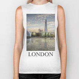 London waterfront Biker Tank