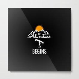 The Adventure Begins - KPAK3H Metal Print