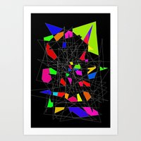 Perspective of the mindless Art Print