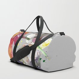 Bunny With flower Duffle Bag
