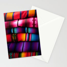 Guatemalan Blankets in Antigua Stationery Cards