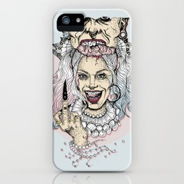 Harley Quinn & Joker iPhone Case