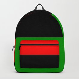 The Red. The Black. The Green. Backpack