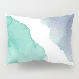 Watercolor Drops Pillow Sham