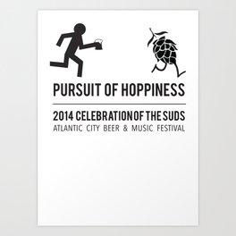 Hoppiness Art Print