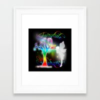 fairytale Framed Art Prints featuring Fairytale by Augustinet