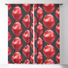 Juicy Pomegranate Blackout Curtain