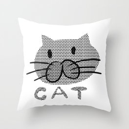 cat 576 Throw Pillow