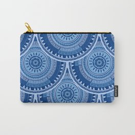 Fish scale design seamless pattern with ethnic motif Carry-All Pouch