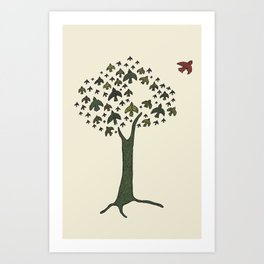 The Bird Tree Art Print