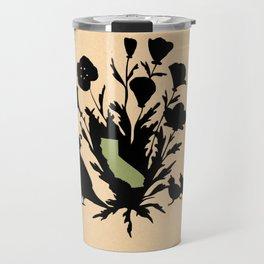 California - State Papercut Print Travel Mug