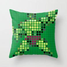 Mr Green 1 Throw Pillow