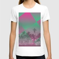 miami T-shirts featuring Miami by Sander Smit
