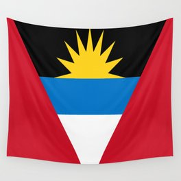 Flag Of Antigua and Barbuda Wall Tapestry