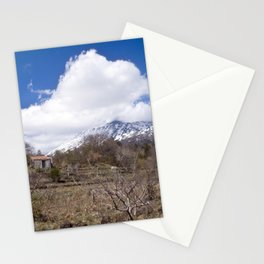 Sicilian Volcano ETNA Stationery Cards