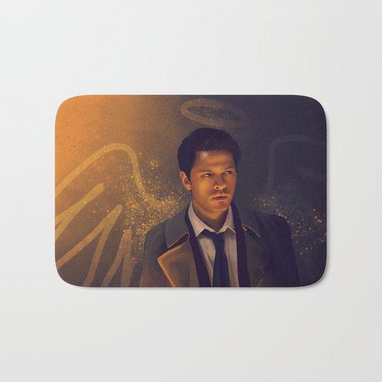 Castiel - Supernatural Bath Mat