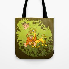Cupid Having Fun Tote Bag