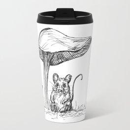 Sheltering Mousey Travel Mug