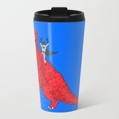 Dinosaur B Forever Metal Travel Mug