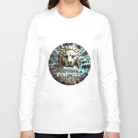 lions Long Sleeve T-shirts featuring LIONS by infloence