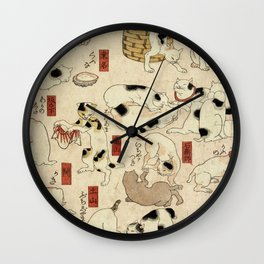 How Cats Do Wall Clock