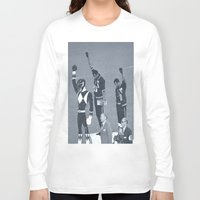 power rangers Long Sleeve T-shirts featuring Black Power Rangers by .escobar