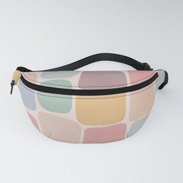 Minimal Blocks - Pastel Rainbow Fanny Pack