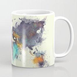 world map 106 #worldmap #map Coffee Mug